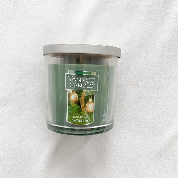 SOLD. Yankee Candle Holiday Bayberry Candle